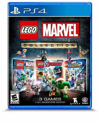 AU42 • Buy LEGO Marvel Collection (SuperHeroes 1& 2 + Avengers) PS4 Playstation 4 Brand New