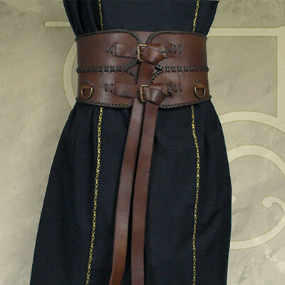 £75 • Buy Medieval / Warrior, Leather Broad Belt - Perfect For Re-enactment Or LARP