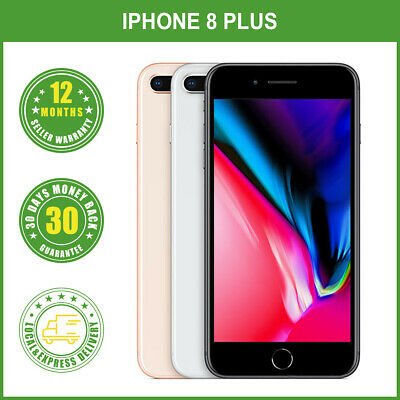 AU649.99 • Buy New Sealed Box Apple IPhone 8 Plus+ 64/256GB  Factory Unlocked Gray Silver Gold