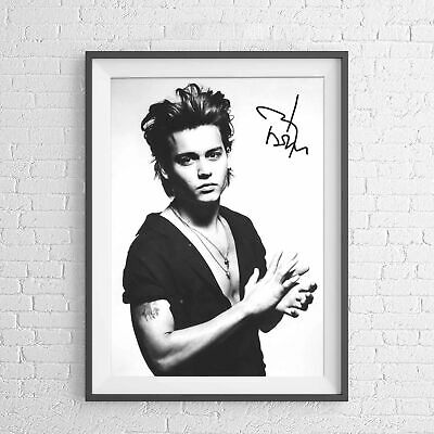 AU6.95 • Buy JOHNNY DEPP HOLLYWOOD MOVIE STAR POSTER PICTURE PRINT Sizes A5 To A0 **NEW**