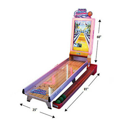 $3899 • Buy Bowl Master Home Bowling Alley Arcade Game