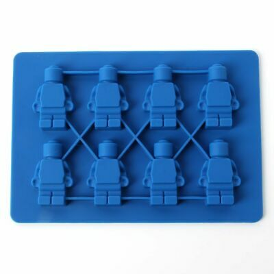 8 Robots Figures Silicone Mould Chocolate Fondant Jelly Ice Cube Mold • 2.66£