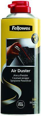 FELLOWES Air Duster Can , PC Keyboard Printer Dust  , Safe Compressed Canister • 7.69£