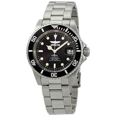 $70.97 • Buy Invicta Pro Diver Automatic Black Sunray Dial Stainless Steel Men's Watch 24760