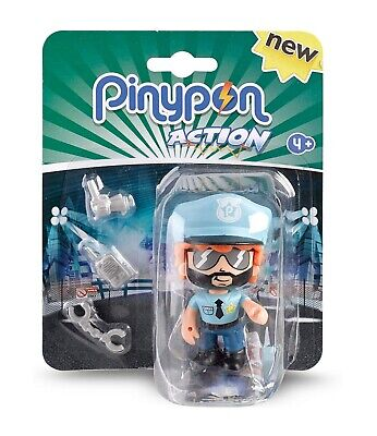 £10.73 • Buy Pinypon POLICEMAN Action Figure With 3 Accessories