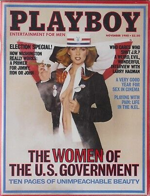 $ CDN14.10 • Buy WOMEN OF THE U.S. GOVERNMENT November 1980 PLAYBOY Magazine  JEANA TOMASINO