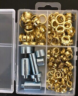 AU16.80 • Buy Tarp Tarpaulin Awning Grommets Eyelets Repaire Tools 150pairs  Size 6/8/10mm