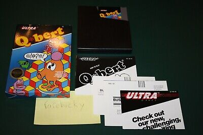$ CDN126.86 • Buy Qbert Q*bert (Nintendo NES) MINT COMPLETE CIB, LOOKS NEW!