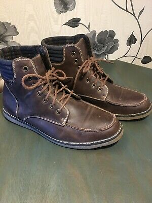 Red Herring Leather Boots UK 9  • 9.99£