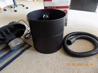 Fire Ash Hoover De Vielle,20L, Double Filter System • 50£