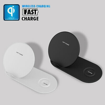 $ CDN25.69 • Buy 2 In 1 Qi Wireless Charger Dock Stand For Apple Watch Air-pod IPhone X XR XS Max