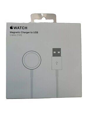$ CDN23.96 • Buy Apple Watch Magnetic Charger To USB Cable (1M) For Series 1 2 3 4 5 - MU9G2AM/A