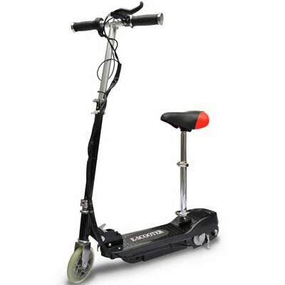 AU244.56 • Buy Electric Scooter With Seat 120 W Black