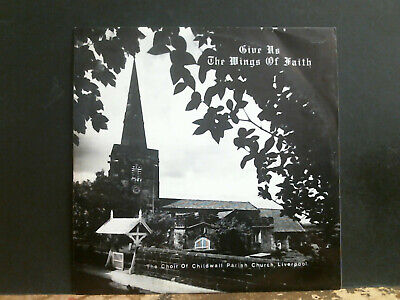 £26 • Buy CHOIR OF CHILDWALL CHURCH, LIVERPOOL  Give Us The Wings . . .  LP 1972 Private