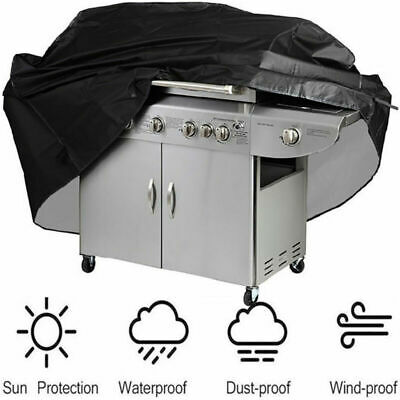 £11.99 • Buy Extra Large Heavy Duty BBQ Cover Outdoor Barbeque Gas Smoker Grill Protector UK