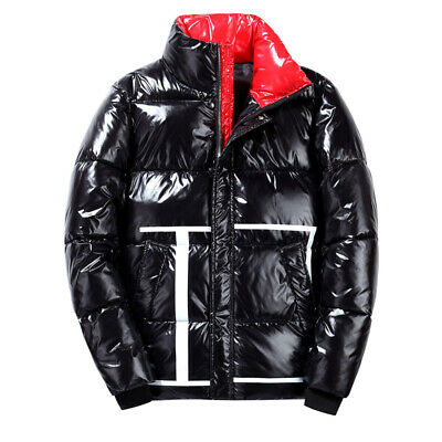Fashion Winter Men's Puffer Padded Down Cotton Jacket Thick Warm Outwear Parkas  • 47.49£