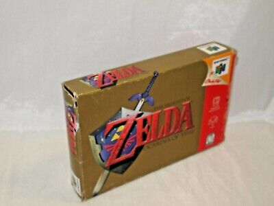 $29.99 • Buy The Legend Of Zelda OCARINA OF TIME (Nintendo 64) BOX (only) N64