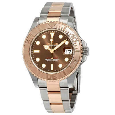 $ CDN17755.62 • Buy Rolex Yacht-Master Chocolate Dial Steel And 18K Everose Mid-size Oyster Watch