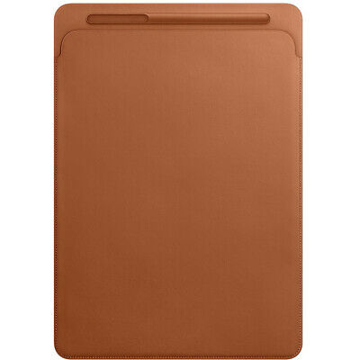 Official Genuine Apple IPad Pro, IPad Air 10.5  Leather Sleeve Case Cover Brown • 34.99£