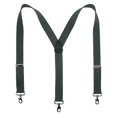 $19.44 • Buy New CTM Men's Big & Tall Elastic Solid Color Y-Back Suspender With Swivel Hook