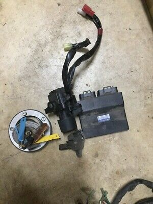AU315 • Buy Yamaha XJR1300 11 Lock Set ECU Wrecking Bike L9