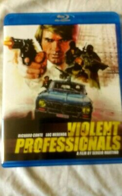 Violent Professionals Blu-ray Sergio Martino New But Not Sealed • 22.99£