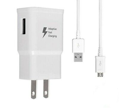$ CDN7.85 • Buy Fast Wall Charger Rapid Charging Cord For Samsung Galaxy S6 S7 Edge Note 5 4