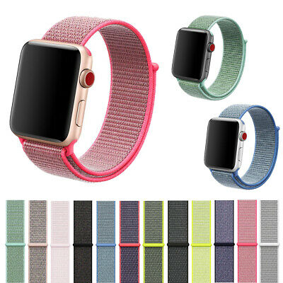 AU8.88 • Buy Replacement Nylon Woven Loop Strap Sport Band For Apple Watch IWatch Series