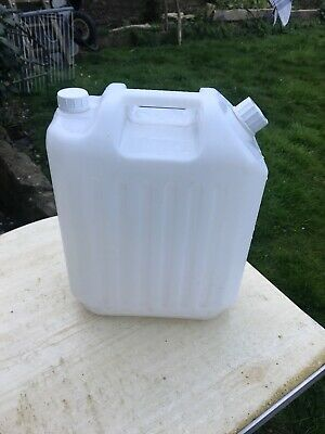 20 Litre Plastic Water Container - Food Grade - Big Very Large Liter • 10£