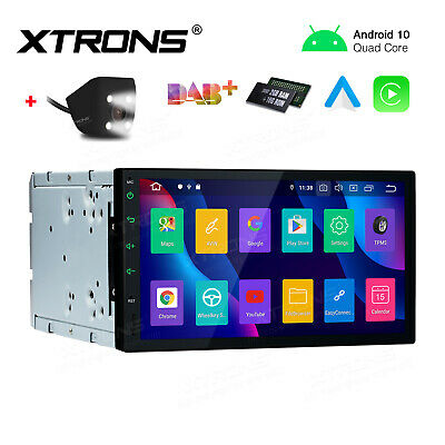 AU279.99 • Buy Universal 7  Android 10.0 Double 2 Din Car Radio Stereo Head Unit GPS + Camera