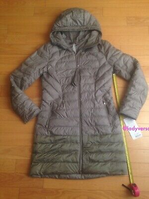 $ CDN199.99 • Buy Lululemon 1x A Lady Jacket Coat Winter Parka Soft Earth Size 8