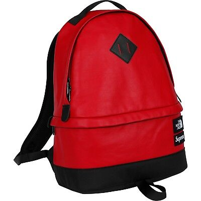 $ CDN502.13 • Buy FW17 Supreme®/The North Face® Leather Day Pack Red