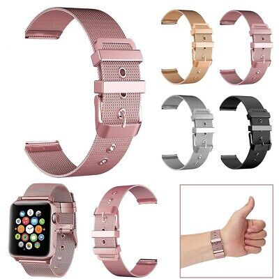 $ CDN7.83 • Buy For Apple Watch Series 5 4 3 2 40/44mm 38/42mm Stainless Steel IWatch Band Strap