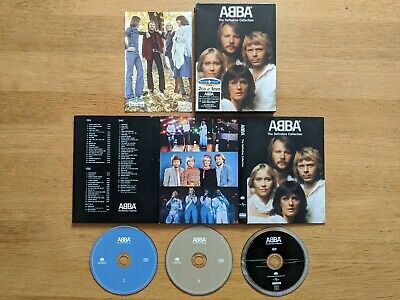 ABBA - The Definitive Collection (Deluxe Sound+Vision 2 CD & 1 DVD Set 2004) • 24.99£