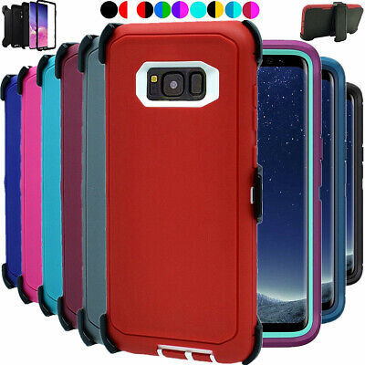 $ CDN13.85 • Buy For Samsung Galaxy S8+Plus Shockproof Hard Case Clip Fits Otterbox Defender