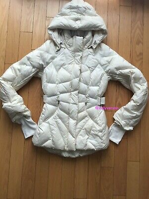 $ CDN238.99 • Buy  Lululemon Get Down Ghost Jacket Winter Coat Parka Off-White/beige Size 6