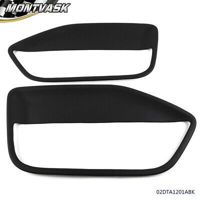 $69.91 • Buy For Ford Mustang Front Driver & Passenger Side Door Panel Inserts 2005-2009