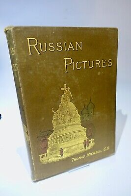 £35 • Buy Russian Pictures - Drawn With Pen And Pencil - Thomas Michell - 1889 - R T S
