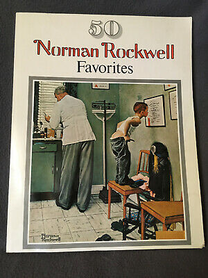 $ CDN19.46 • Buy 1977 Norman Rockwell Favorites Book 50 Large Poster Size