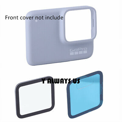 $ CDN24.09 • Buy For GOPRO HERO 7 Silver / White Outer Cover Glass Lens Tempered Protective Glass