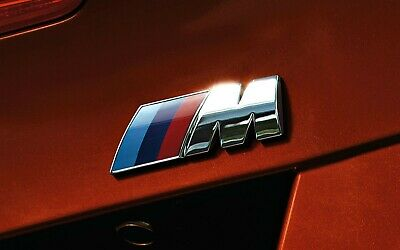 AU8.99 • Buy M Sport Chrome BMW Car Badge 3D Self-adhesive Premium Logo Emblem