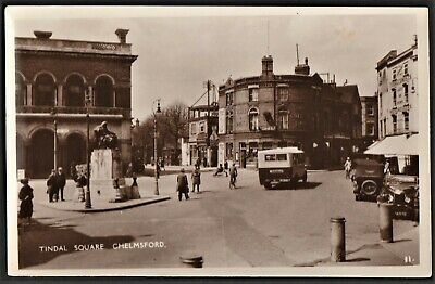 £12.95 • Buy CHELMSFORD Postcard Tindal Square With Bus And Old Cars