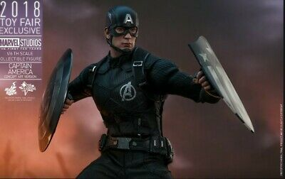 AU600 • Buy Hot Toys MMS488 Captain America Concept Art Ver, 1/6th Scale Collectible Figure