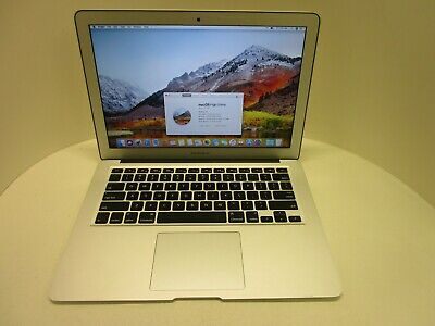 $205 • Buy Apple MacBook Air 7,2 Core I5 1.6GHz 256GB SSD 13 Inch Mid 2015 OS Loaded