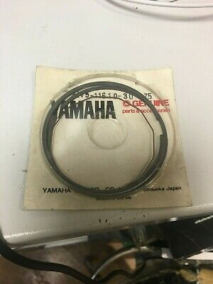 $40 • Buy Yamaha Piston Rings 0.75 Over Mx175, Dt175 1978-81