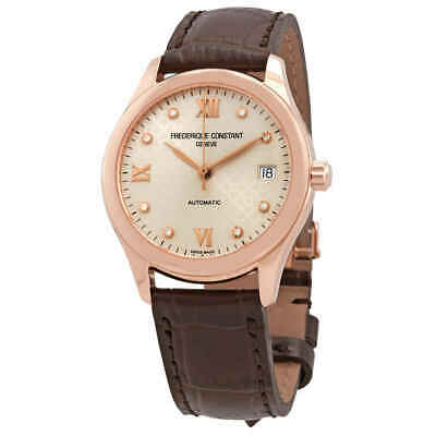 $699 • Buy Frederique Constant Automatic Diamond Ladies Watch FC-303LGD3B4