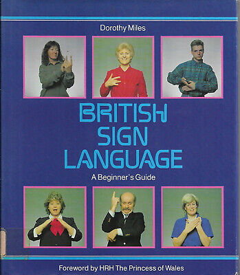 £21.34 • Buy British Sign Language - A Beginners Guide Dorothy Miles BBC Books