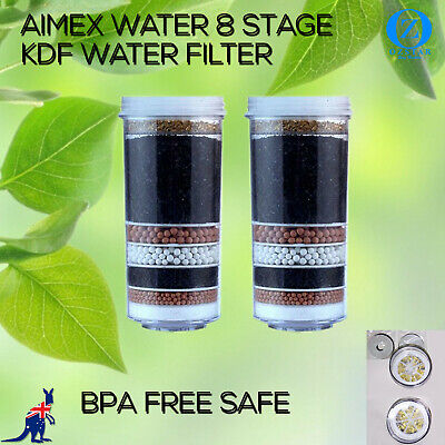 AU60 • Buy 8 Stage Water Filter Cartridges Purifier Cooler Dispenser Ceramic Replacement X2