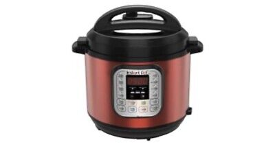 $89 • Buy Instant Pot DUO60 Red Stainless 6-Quart 7-in-1 Multi-Use Programmable Pressure C