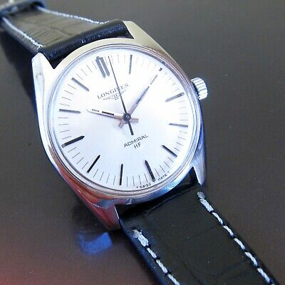$ CDN705.74 • Buy Vintage LONGINES ADMIRAL Mens Watch SILVER DIAL Swiss Made 1960s ,CALIBRE 6942